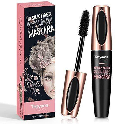 4D Tetyana Silk Fiber Lash Mascara Waterproof Natural Thick Thickening and Lengthening Mascara - Beautyshop.ie