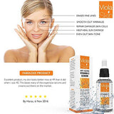 Viola Skin Vitamin C Serum For Face with Hyaluronic Acid Serum - Beautyshop.ie