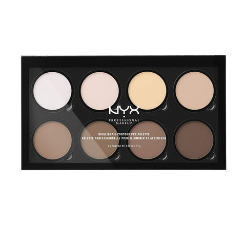 NYX Professional Highlight & Contour Pro Palette de maquillage - Beautyshop.fr
