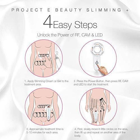 Project E Beauty LED + Radio Frequency Ultrasonic Slimming Therapy Device - Beautyshop.se