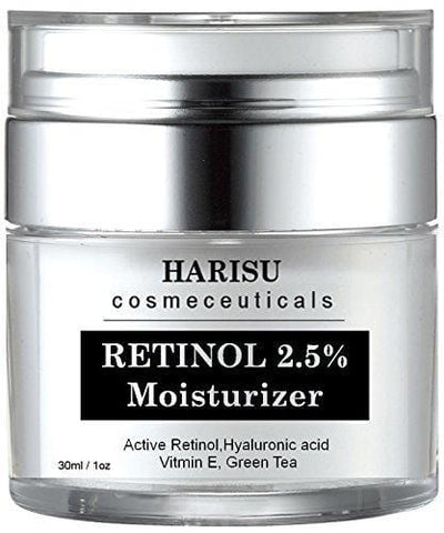 HARISU Cosmeceuticals's Retinol Moisturizer Cream - With 2.5% Active Retinol - Beautyshop.ie