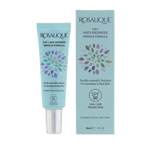 Rosalique 3 in 1 Anti-Redness Miracle Formula SPF50 1 x 30 ml - Beautyshop.it