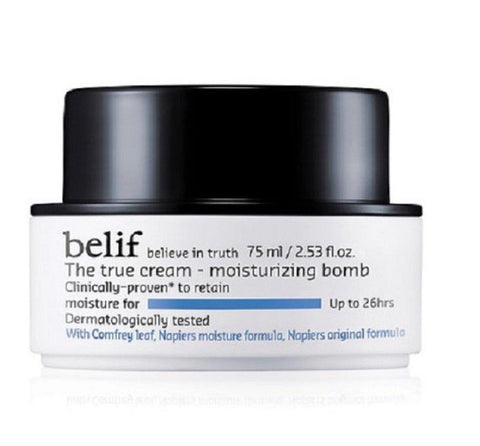 belif The True Cream Bombe Hydratante Korean Beauty - Beautyshop.fr