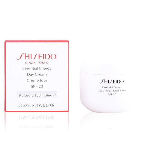 Essential Energy by Shiseido Day Cream SPF20 50ml - Beautyshop.ie