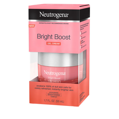 Neutrogena Bright Boost Brightening Gel Moisturizer Face Cream (50ml) - Beautyshop.ie