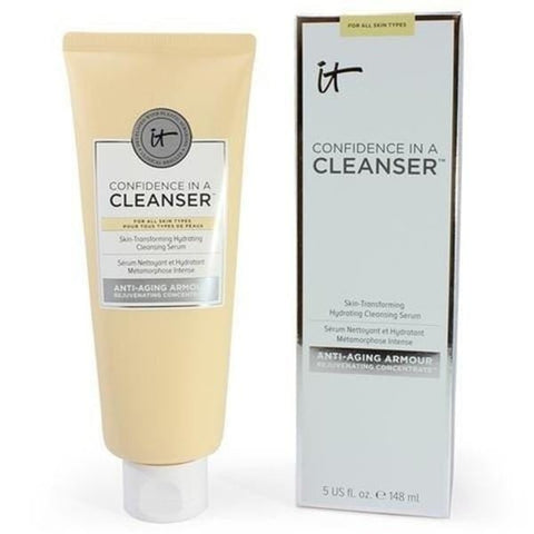 IT COSMETICS Confidence In a Cleanser Cleansing Serum! Full Size! (150ml) - Beautyshop.ie
