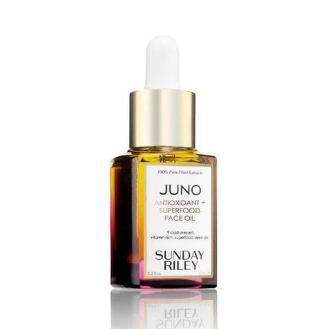 SUNDAY RILEY Juno antioksidantas + supermaistas veido aliejus (35ml) - Beautyshop.lt
