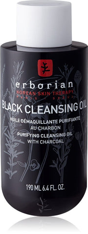 Erborian Black Cleansing Oil with Purifying Charcoal 190 ml