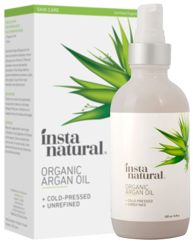 InstaNatural Organic Argan Oil (120ml) - Beautyshop.ie