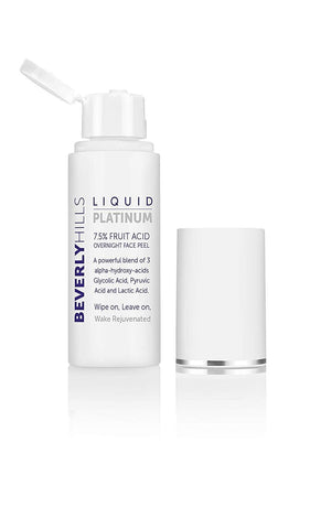 Beverly Hills Liquid Platinum - 7.5% Peeling facial con ácido de frutas. 50ml. - Beautyshop.ie