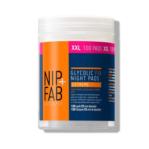 Nip + Fab Glycolic Fix Extreme Night Pads 80 ml - Beautyshop.ie