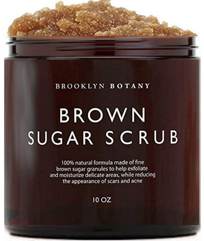 Tělový peeling Brooklyn Botany Brown Sugar - 10oz - Beautyshop.ie
