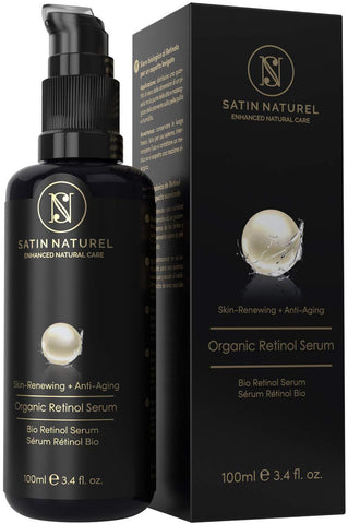 Satin Naturel Organic Advance 3% Retinol Vegan Serum - 100ml (Hecho en Alemania) - Beautyshop.es