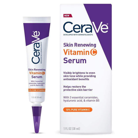 CeraVe Witamina C Serum z kwasem hialuronowym (30ml) - Beautyshop.ie