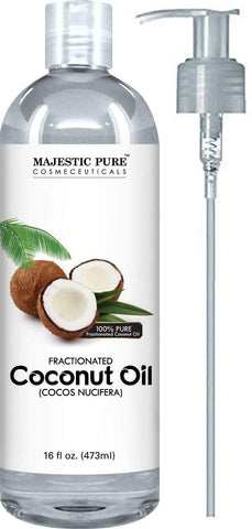 Majestic Pure Fractionated Coconut Oil (473ml) - Beautyshop.ie