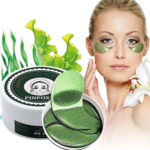 """Seaweed Collagen Cooling Eye Mask"" kaukė (60 vnt.) - Beautyshop.ie"