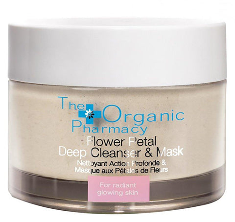 The Organic Pharmacy - Flower Petal Deep Cleanser & Exfoliating Mask (60 g) - Beautyshop.ie