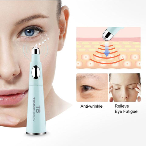 Sonic Facial Cleanser with Anti-Ageing Wrinkle Eye Massager - Beautyshop.ie
