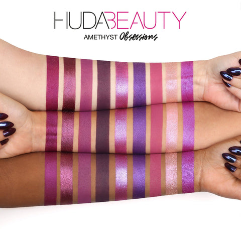 HUDA BEAUTY Obsessions Eyeshadow Amethyst Palette - Beautyshop.ie