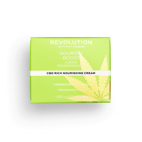 Revolution Skincare Nourish Boost CBD krēms - 50ml