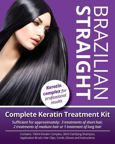 Brazilian Straight Treatment Kit Salon Quality - Beautyshop.dk