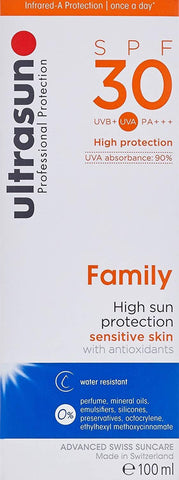 ultrasun Obitelj SPF30 - Beautyshop.ie
