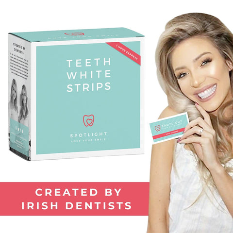 Spotlight Whitening Strips Developed by Irish Dentists with Minimal Sensitivity