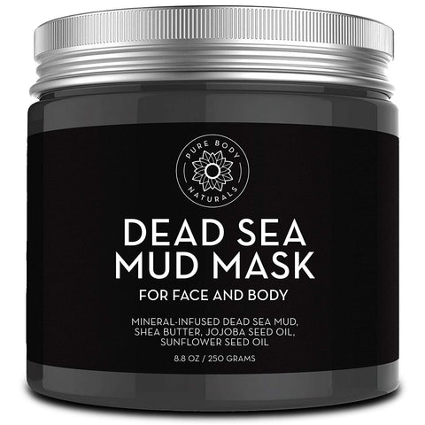 Mascarilla de barro del Mar Muerto de Pure Body Naturals (250g) - Beautyshop.es