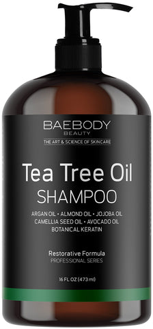 Baebody Tea Tree Oil Shampoo - (473ml) - Beautyshop.ie