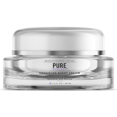 Pure Premium Night Cream Face Moisturizer med Retinol