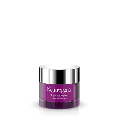 Neutrogena Crema de noapte anti-îmbătrânire Triple Age cu vitamina C (50ml) - Beautyshop.ie
