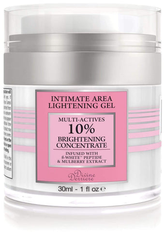 Divine Derriere Intimate Skin Lightening Gel for Body, Face, Bikini and Sensitive Areas 30ml - Beautyshop.ie