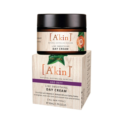 A'kin Age Defy Line Smoothing Day Cream 50 ml - Beautyshop.ie
