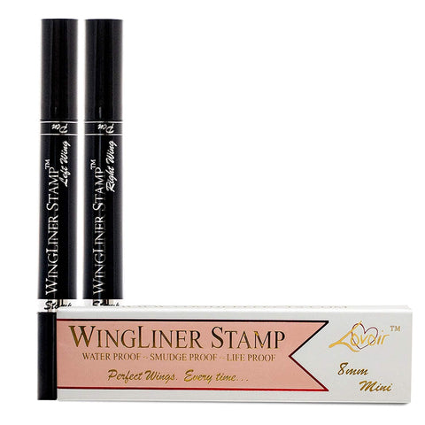 Eyeliner Stamp - Wingliner av Lovoir / Vogue, 2-pennor i ett paket (10mm Classic) - Beautyshop.ie