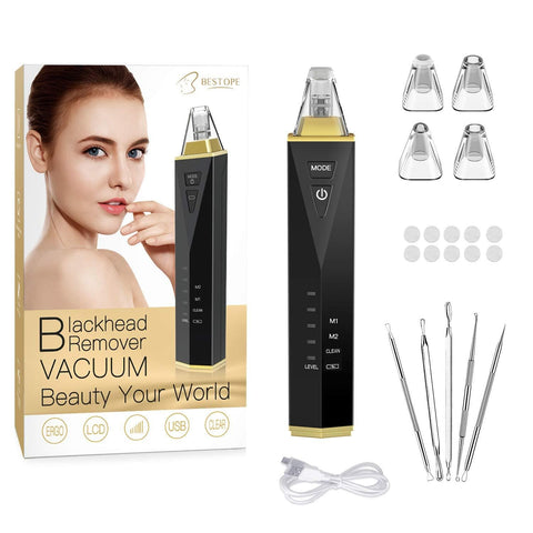 Pore ​​Cleaner 2019 uppgraderad version Blackhead Remover - Beautyshop.ie