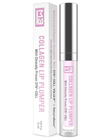 M3 Naturals Collagen Lip Plumper (4ML) - portāls Beautyshop.com