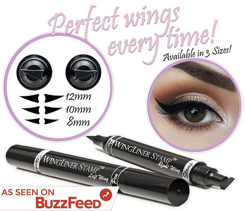 Eyeliner Stamp  – Wingliner by Lovoir/Vogue, 2 Pens In A Pack (10mm Classic) - Beautyshop.ie