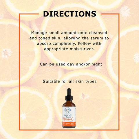MeMe Korean Vitamin C Serum for Face - Beautyshop.ie