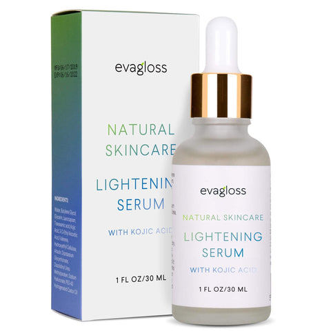 Evagloss Skin Lightening Serum med Kojic Acid - 30ml - Beautyshop.dk