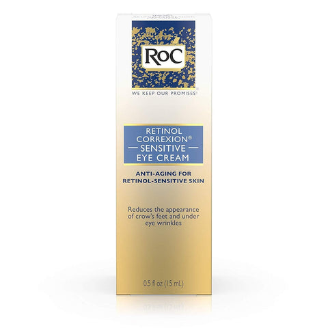 RoC Retinol Correxion Anti-Aging Eye Cream for Sensitive Skin (15ml) - Beautyshop.ie