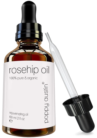 Poppy Austin® Pure Organic Rosehip Oil by - Beautyshop.sk