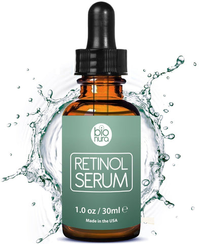Bionura Retinol 2.5%, Vitamin C 20% and Hyaluronic Acid - Beautyshop.ie