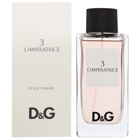 DOLCE & GABBANA No 3 L'Imperatrice Eau de Toilette Spray 100ml - Beautyshop.ie