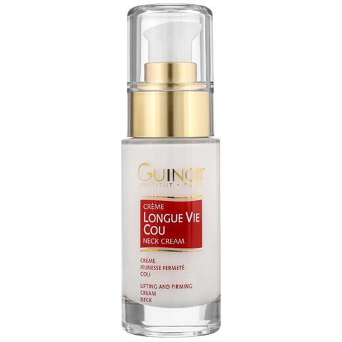 Guinot Eyes Lips & Neck Longue Vie Cou učvršćujuća vitalna krema za vrat 30ml / 0.88 oz. - Beautyshop.ie