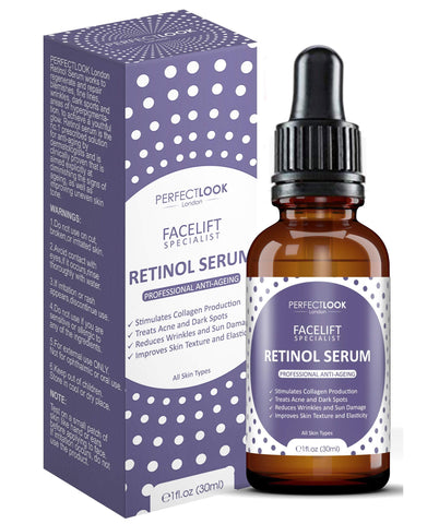 Retinol Serum High Strength with Hyaluronic Acid by  FACELIFT SPECIALIST - Beautyshop.ie