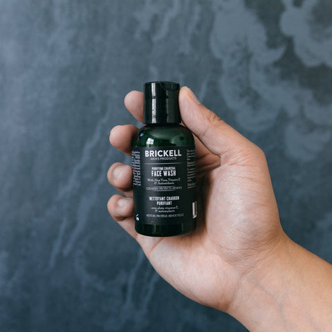 Brickell Men's Organic Purifying Charcoal Face Wash for Men - Beautyshop.ie