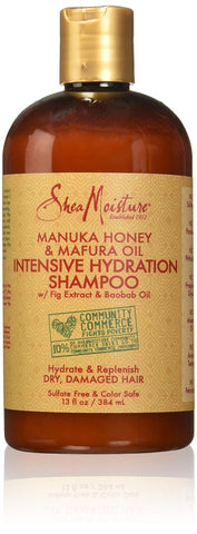 Shea Moisture Manuka Honey & Mafura Oil Intensive Hydation Shampoo (384ml) - Beautyshop.ro