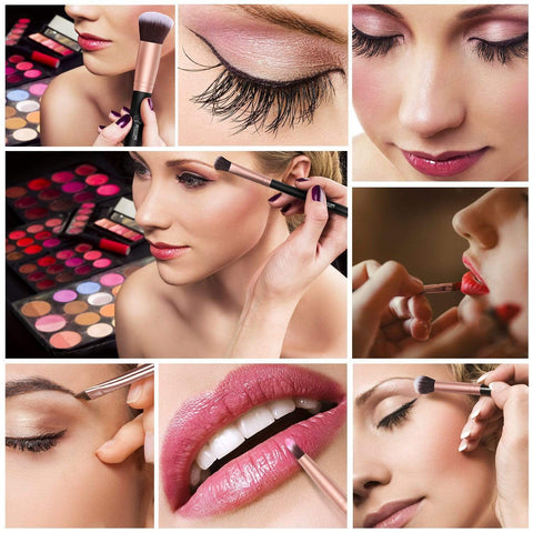 Set di pennelli trucco professionale 16-Piece - Beautyshop.ie