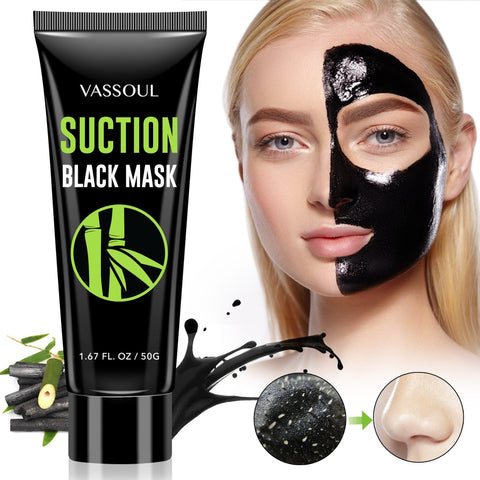 Vassoul Blackhead Suction Black Mask