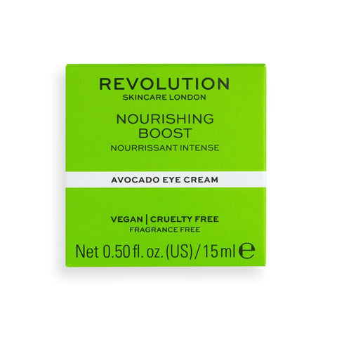 Revolution Skincare Nourishing Boost Avocado Eye Cream - 15ml